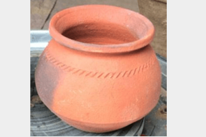 Clay Biryani Pot For 500 Grams